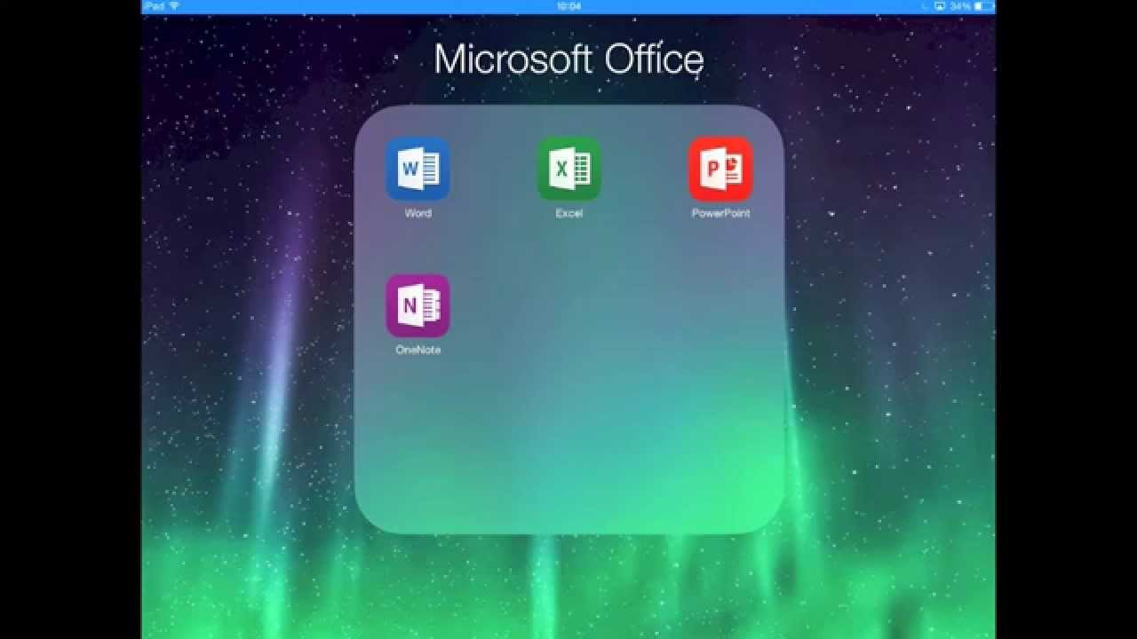 Download microsoft office for ipad.