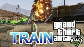 Trying To Stop The Train GTA 5