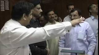 Quarrel of Zila Nazim Attock with DCO Attock