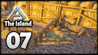 LET'S BREED SOME ARK DINOSAURS! | Let's Play ARK Survival Evolved: The Island | Episode 7
