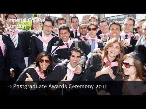 Imperial College Postgraduate Awards 2011