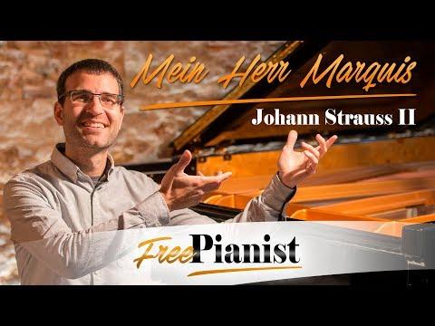 Mein Herr Marquis - KARAOKE / PIANO ACCOMPANIMENT - Die Fledermaus - Johann Strauss II