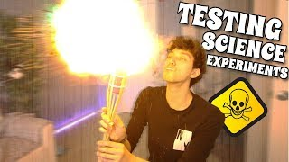 TESTING SCIENCE EXPERIMENTS! 5