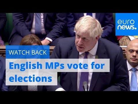 Watch Again Pm Johnson To Seek Another Route An Election
