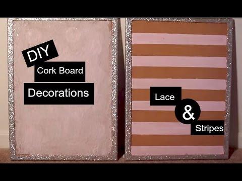 DIY Cork Board PT. 1 | Decoration for Office, Dorm room ...