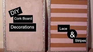 DIY Cork Board PT. 1 | Decoration for Office, Dorm room, or bedroom