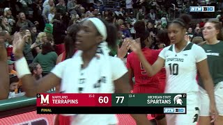 Top Plays: Maryland at Michigan State | Big Ten Women's Basketball
