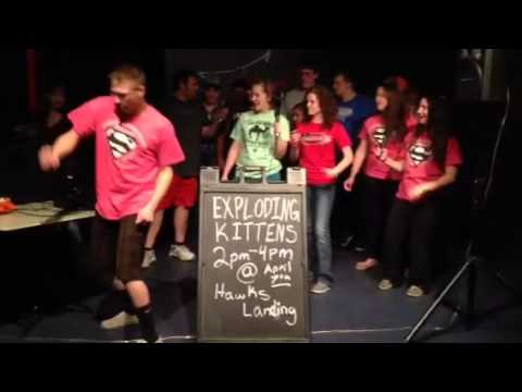 Northeast Community College Exploding Kittens  #KittenConsul