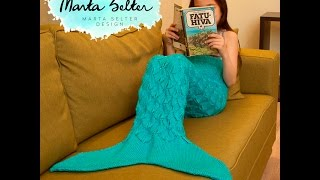 Children's Mermaid Tail Knitting Tutorial