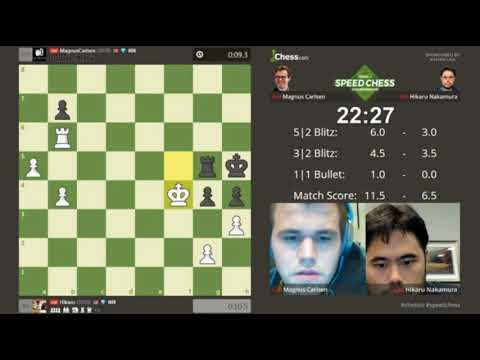 Magnus Carlsen vs Hikaru Nakamura Speed Chess Championship 2017 Final (part 5)