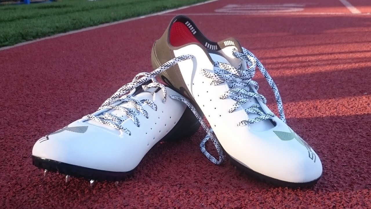 f39a29249e8a2 Sprint spikes, Under-armour sprint pro review - YouTube