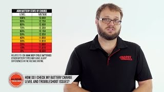 Q&A: How to check your battery charge level and troubleshoot issues?