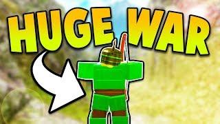 HUGE YOUTUBER WAR! (ROBLOX BOOGA BOOGA)