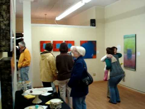 Artist Karen Banker Two-Woman Show at Rusty's Gallery in Historic Downtown Lincolnton NC