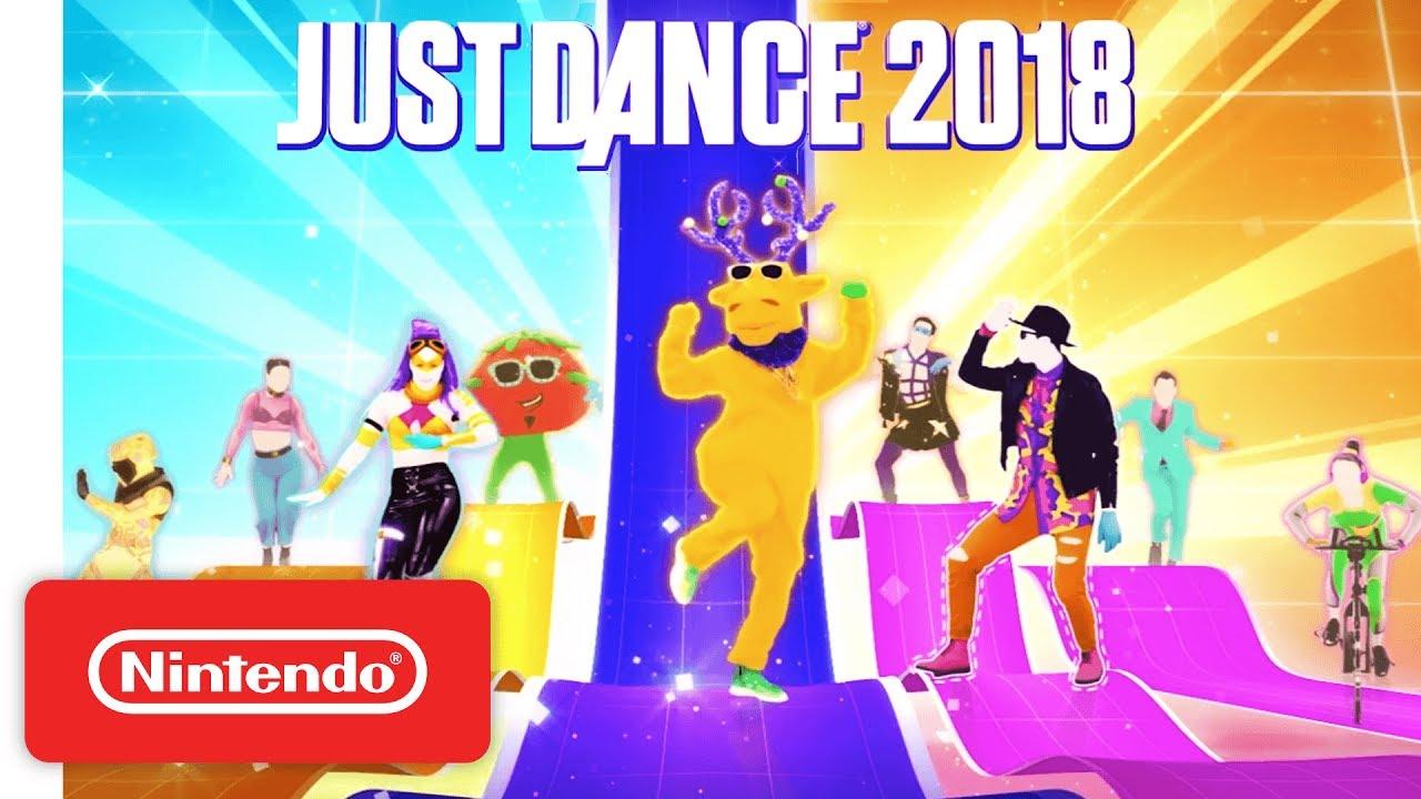 Just Dance 2018 Official Game Trailer Nintendo E3 2017