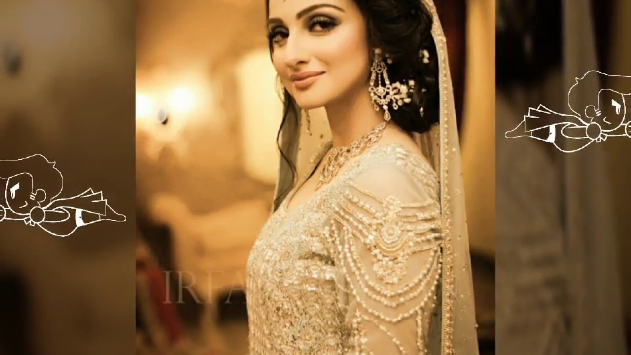 6da838a2232 Latest Pakistani Designer Bridal Walima Dresses 2017 2018 Youtube