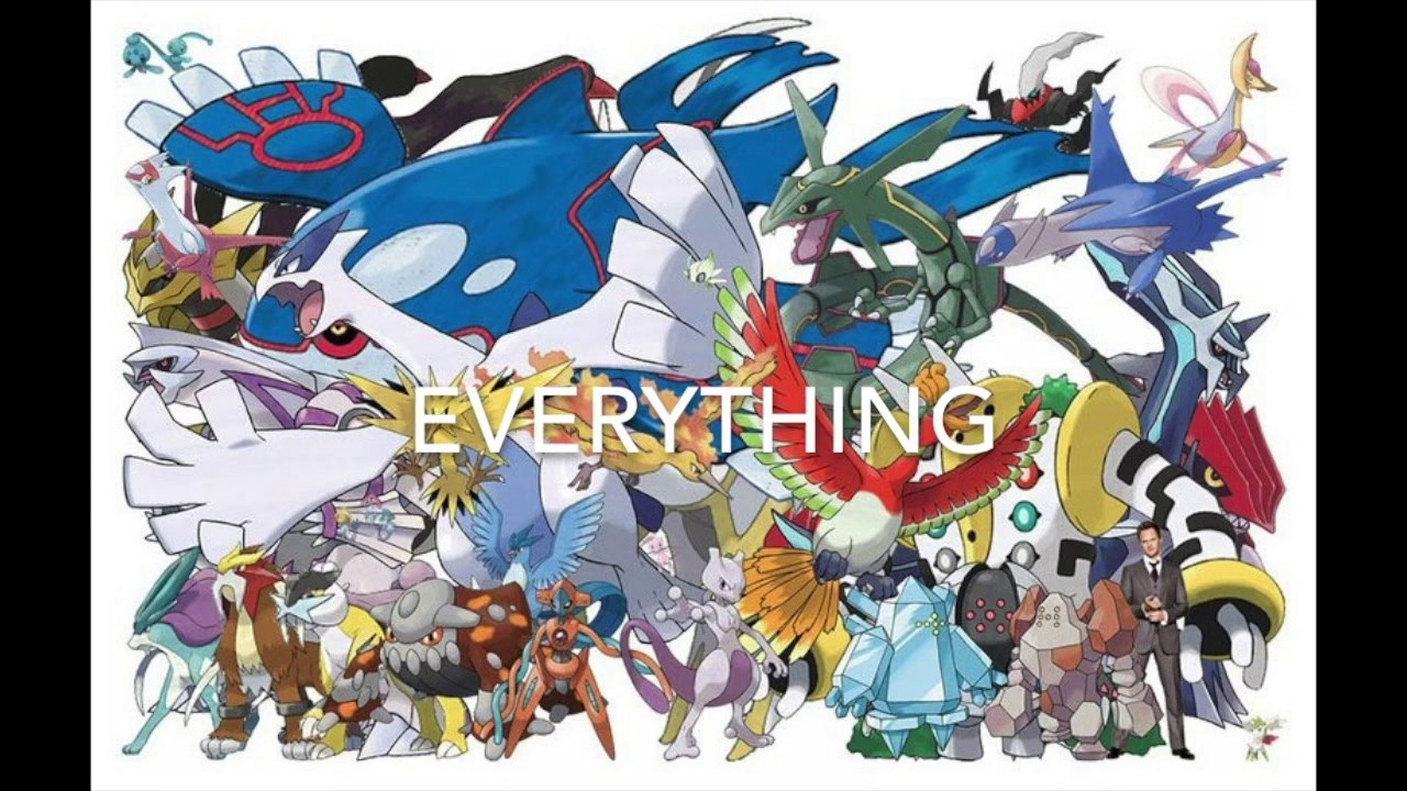 Pokemon Updated* Cries- All Legendary, Mythical, and ...