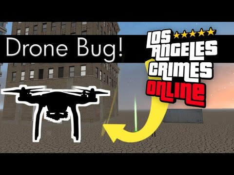 Los Angeles Crimes NEW Drone BUG! | Shooting Drone LAC BUG |