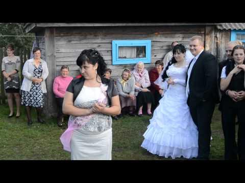 вот так гулять надо на свадьбе у нас в Белоруссии - Прикольное видео онлайн