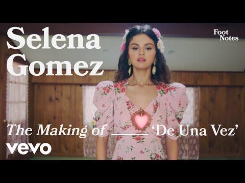 Selena Gomez - The Making of 'De Una Vez'   Vevo Footnotes