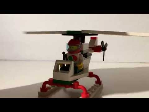 Lego Stunt Copter Review Set #6515 from 1994! - NAB Bricks