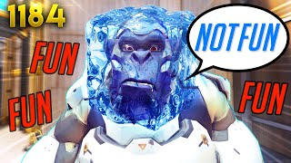 WHY Tanks DON'T ENJOY OW | Overwatch Daily Moments Ep.1184 (Funny and Random Moments)