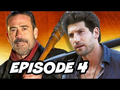 Walking Dead Season 7 Episode 4 - TOP 10 WTF and Easter Eggs