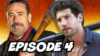 Walking Dead Season 7 Episode 4 TOP 10 WTF and Easter Eggs