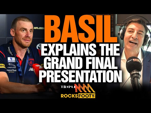 Basil Explains What Happened During The Grand Final Presentation | Triple M Perth | Triple M Footy