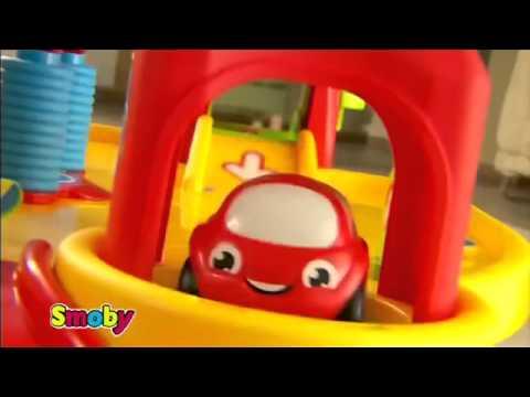 Smoby vroom planet grand garage youtube - Smoby vroom planet garage ...