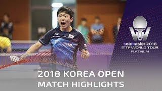 Yan An vs Jeong Sangeun | 2018 Korea Open Highlights (Pre)