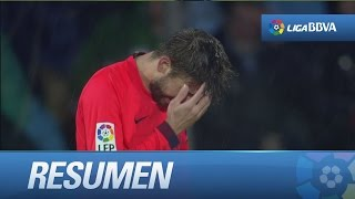 Resumen de Getafe CF (0-0) FC Barcelona - HD