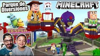 Ciudad de Toy Story 4 en Minecraft | Parque de Diversiones de Toy Story | Juegos Karim Juega