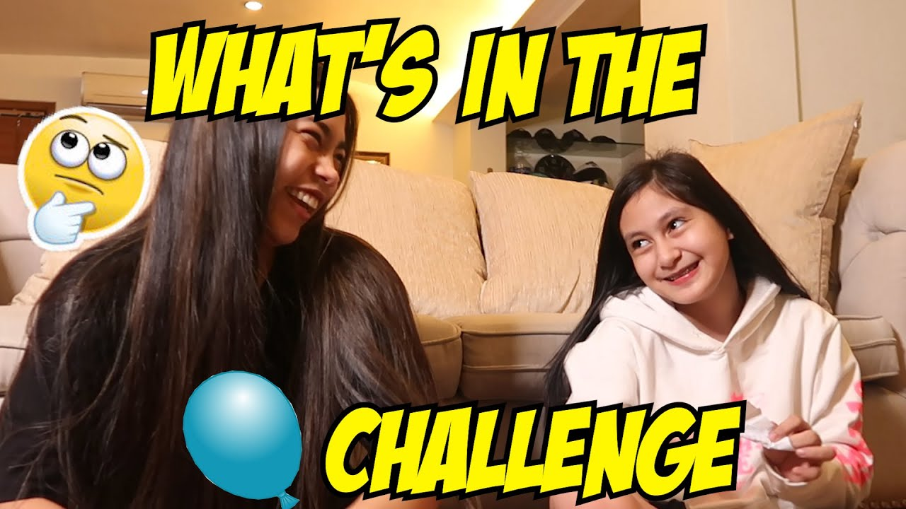 WHAT'S IN THE BALLOON CHALLENGE WITH ATE RANA HARAKE | PRINCESS THEA