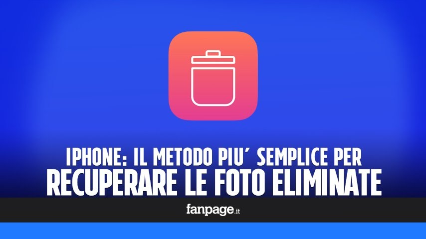 Recuperare Fotro Cancellate Dalliphone