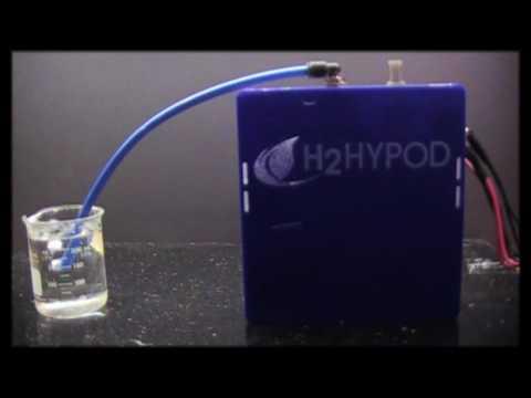 H2Hypod 7 inch Tech Demo ultra high efficient hydrogen technology HHO