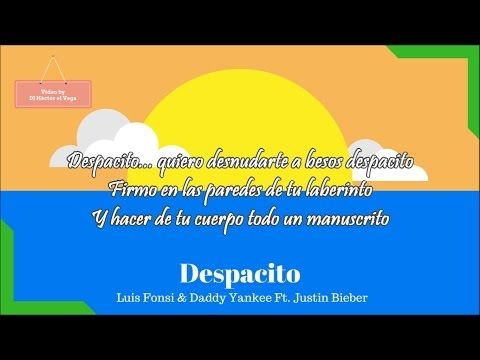 Despacito Remix (Letra/Lyrics) - Luis Fonsi, Daddy Yankee ft. Justin Bieber - Traducida