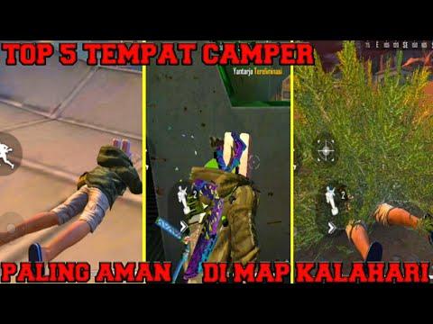 5 TEMPAT CAMPER PALING AMAN DI MAP KALAHARI | Fadly Skuyy