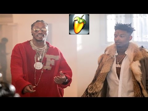 21 Savage & Metro Boomin - X ft Future FL Studio FLP Instrumental Pt 2