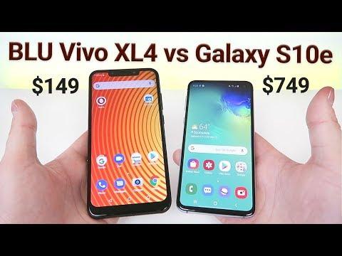 BLU Vivo XL4 vs Samsung Galaxy S10e - Which is Better?
