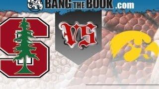 2016 Rose Bowl No. 6 Stanford vs No. 5 Iowa No Huddle
