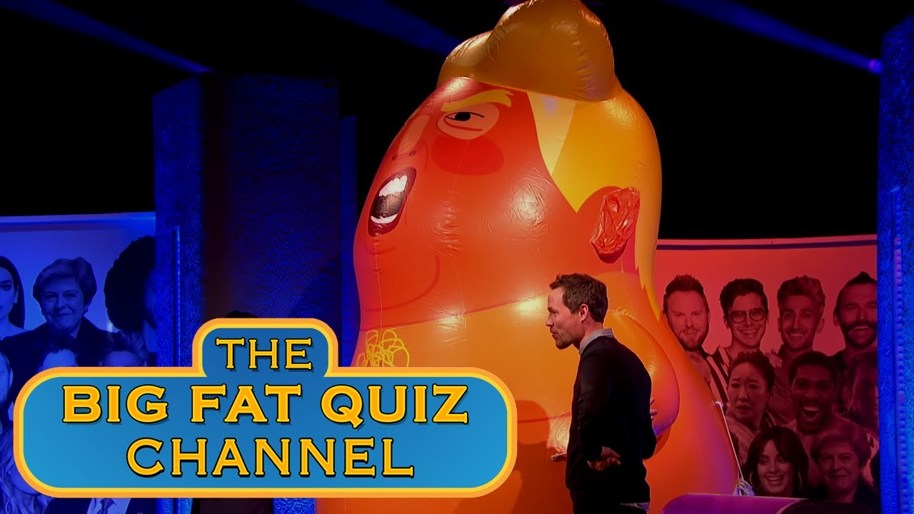 big fat quiz of everything 2018 youtube