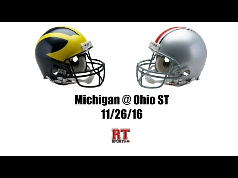 Ohio State Buckeyes vs Michigan Wolverines in 40 Minutes - 11/26/16