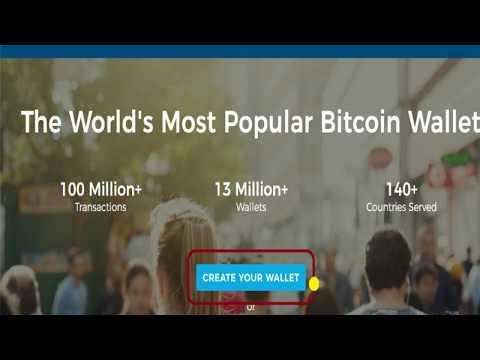 Bitcoin Income Dream - Hoe om 'n Blockchain Wallet Te Open