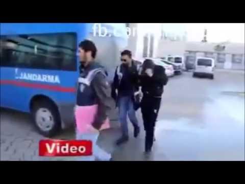 Polise Yakalanınca Roman Oynayan Gençler