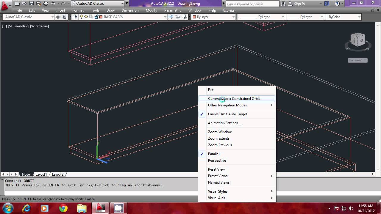 modeling a kitchen using autocad part2 youtube