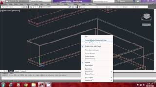 Modeling a Kitchen using AutoCAD - PART2
