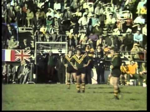 1972 Rugby League World Cup - Great Britain V Australia (Group Match)
