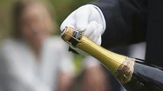 Как красиво подать шампанское
