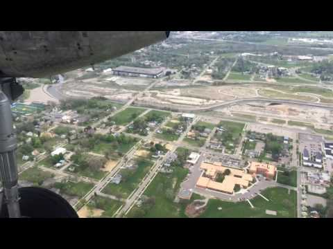 Pick out Flint landmarks in aerial tour of city